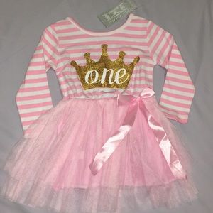 Other - One year first birthday tutu dress